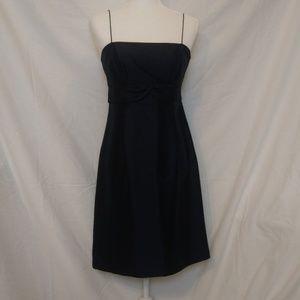 Ann Taylor Navy Blue Cocktail Dress